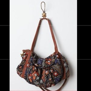 Anthropologie Oleaster bag by Miss Albright Rare
